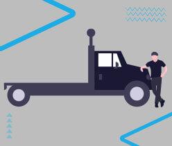 caminhões de cargas pesadas