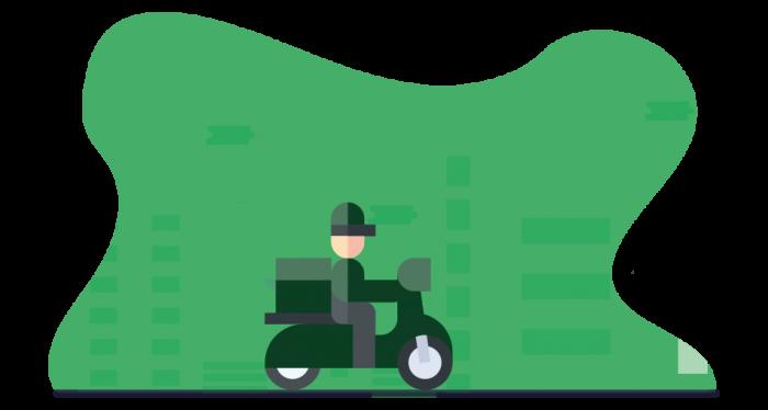 melhor moto para delivery de alimentos