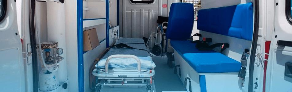 manutenção da ambulância