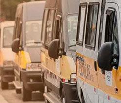 rastreamento no transporte de estudantes