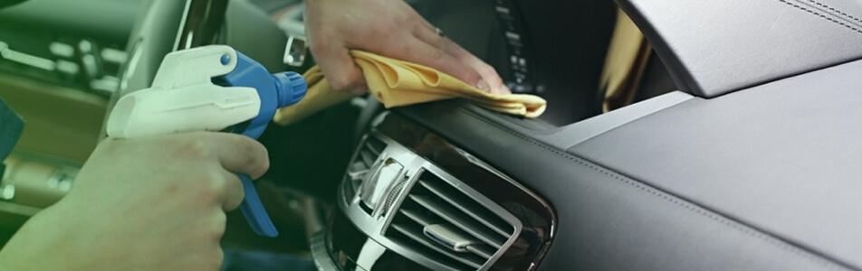 higienizaçao do automóvel